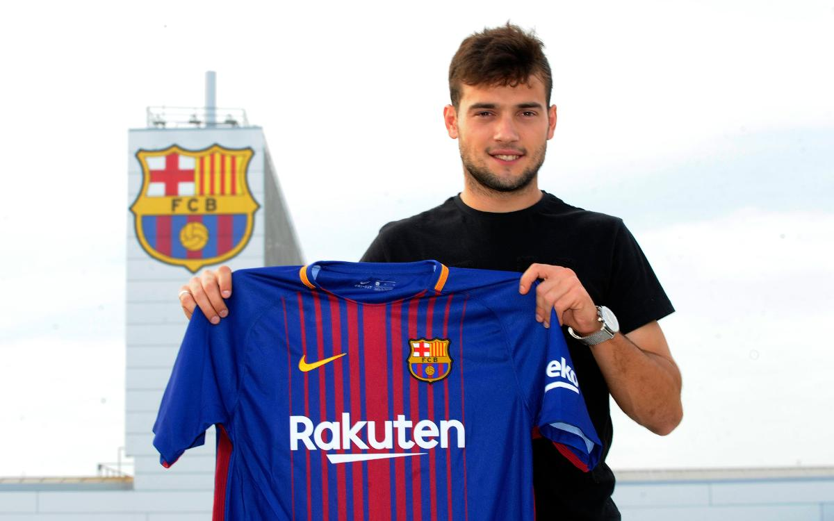 Jose Arnaiz apuntala el ataque del Barça B