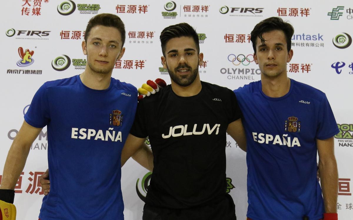 Xavier Arcas, Pablo Najera y Àlex Joseph, listos para disputar el Mundial sub-20