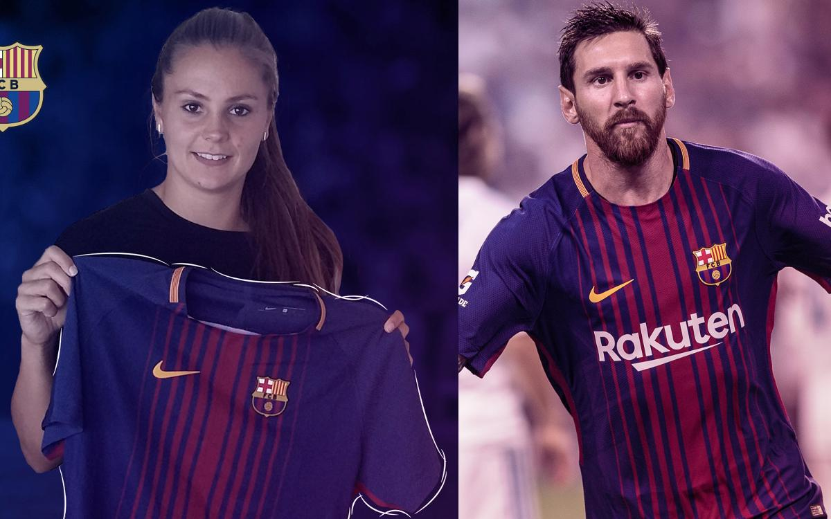 Leo Messi and Lieke Martens, shortlisted for UEFA Player of the Year