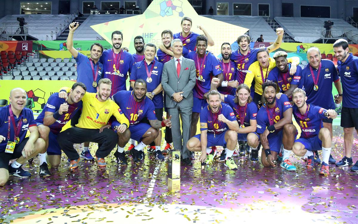 Füchse Berlin v FC Barcelona Lassa: Champions of the Super Globe! (25-29)