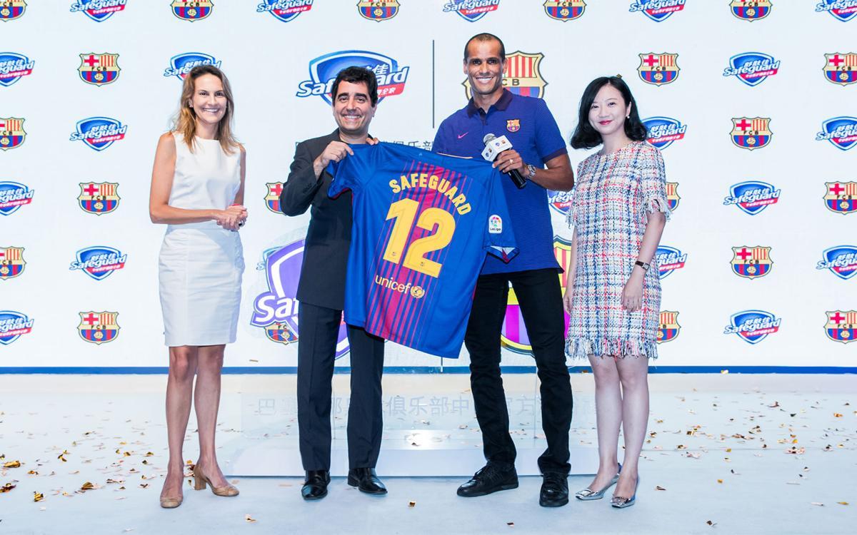 Safeguard, a new regional sponsor for FC Barcelona