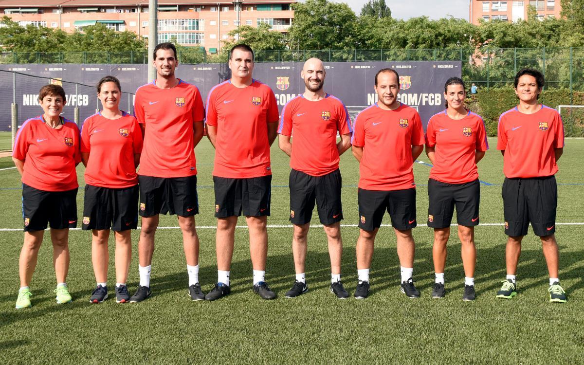 El nuevo staff técnico del Barça Femenino