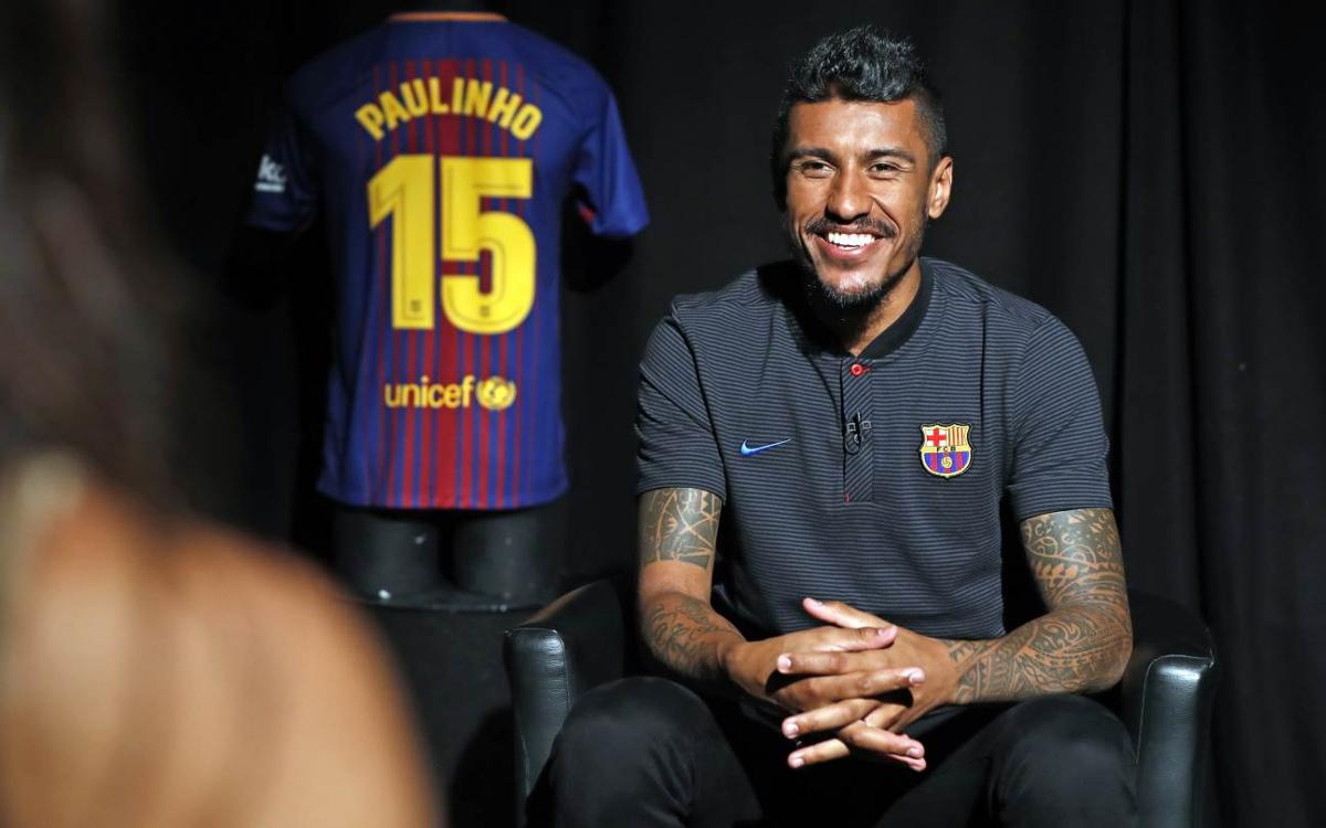 Paulinho's long journey takes him to FC Barcelona