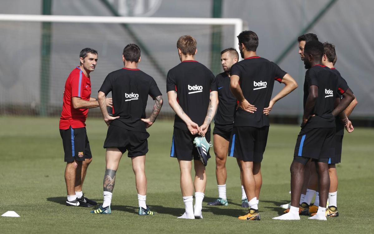 Squad announcement for the opening La Liga game of the season