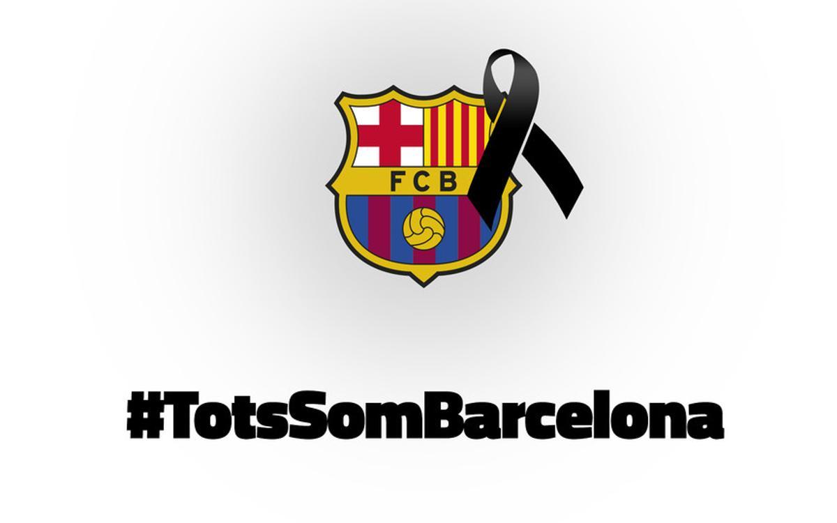 Duelo de la Confederación Mundial de Peñas por los atentados de Barcelona y Cambrils