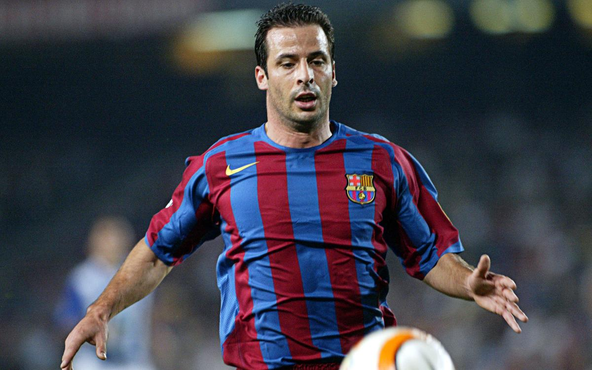 Giuly was the former Barça player who hit the woodwork three times in the same match