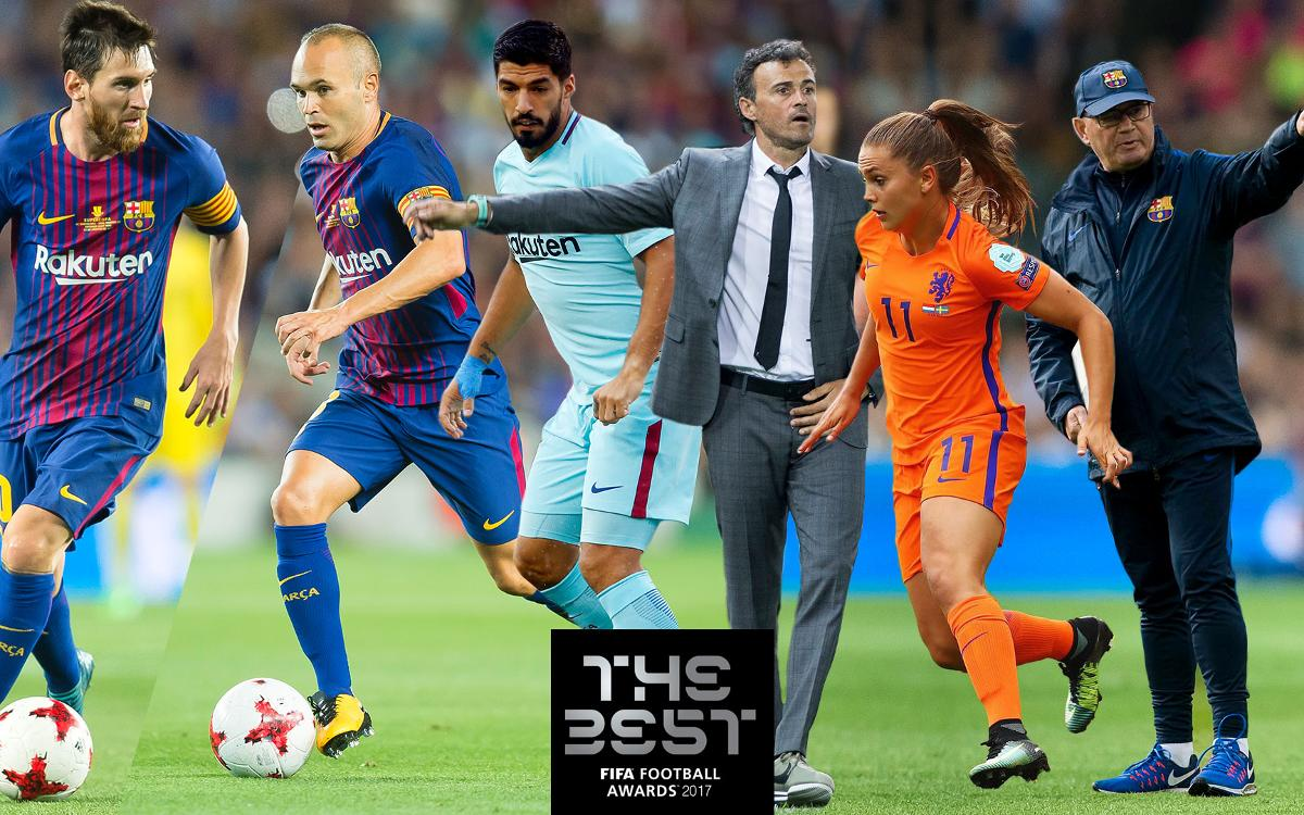 Six Barça players nominated for FIFA The Best Award