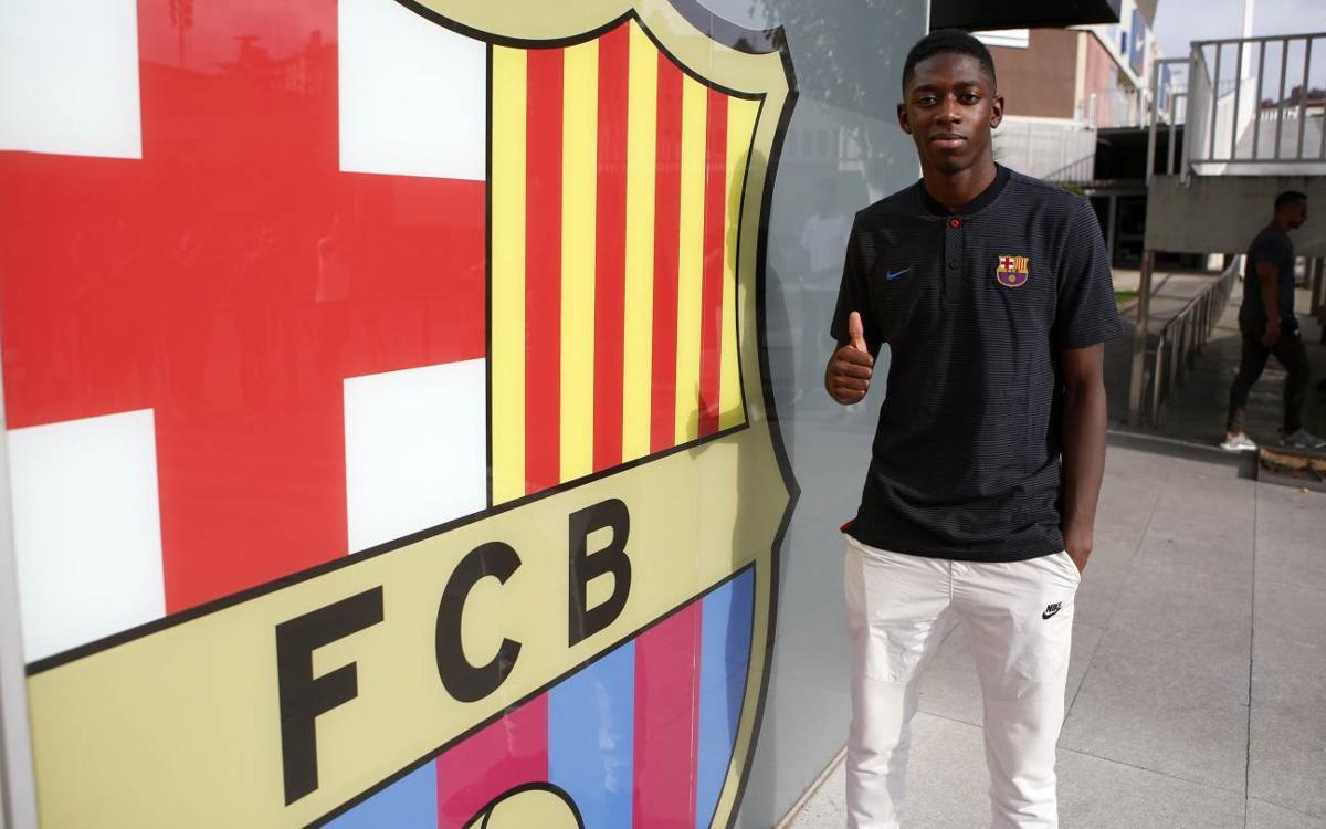 Ousmane Dembélé ja és a Barcelona