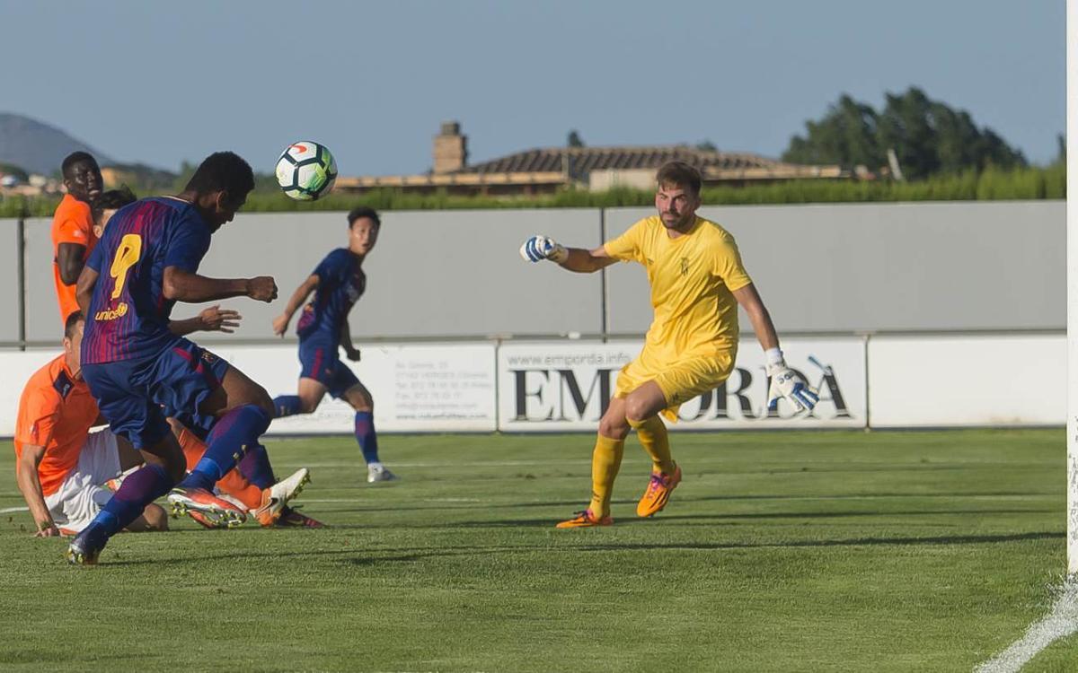 Peralada CF-Barça B: Derrota
