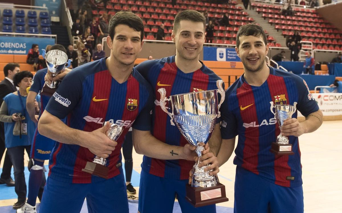Pablo Álvarez, Matias Pascual i Lucas Ordoñez jugaran els World Roller Games