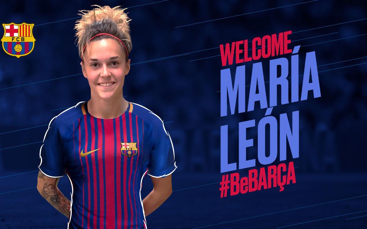 Agreement with Atlético Madrid for María León