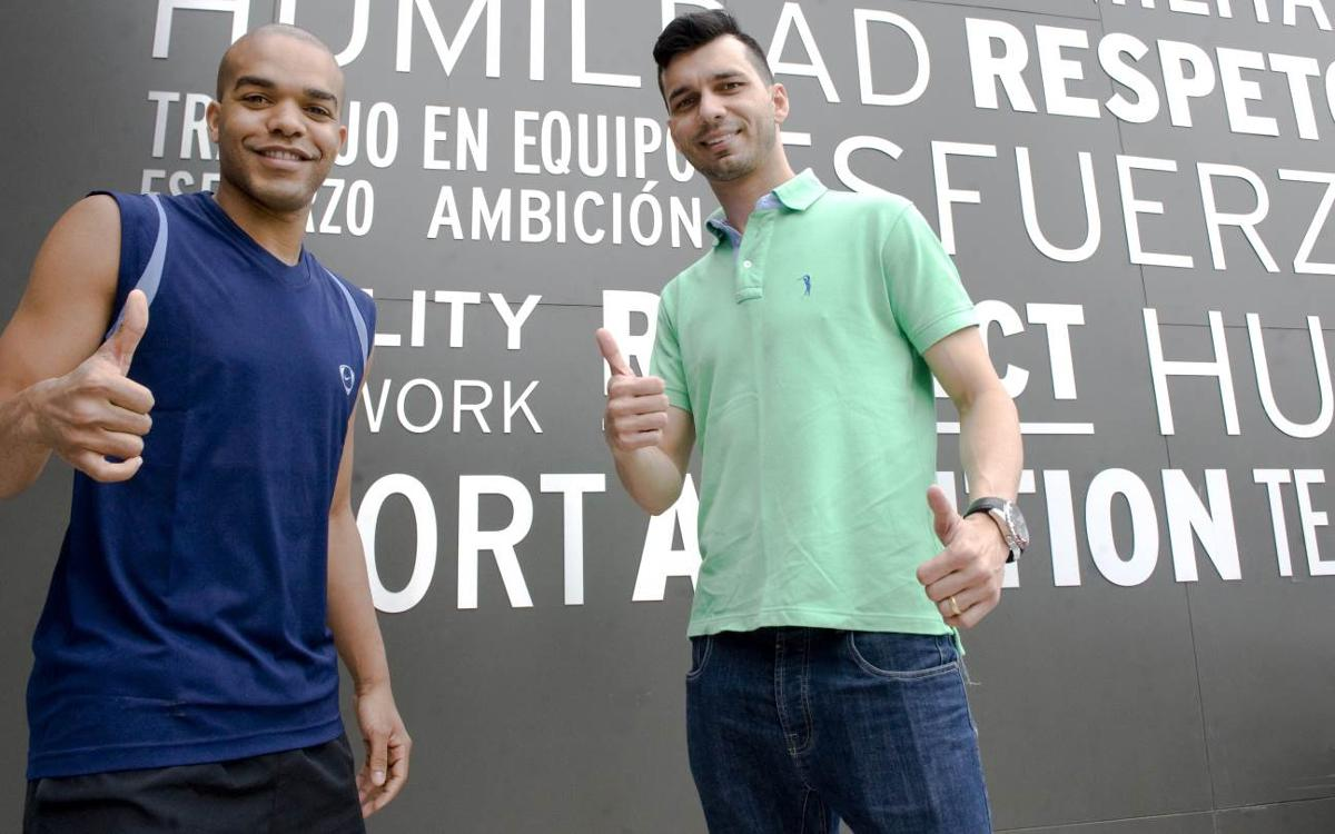 'Esquerdinha' y Léo Santana refuerzan al Barça Lassa