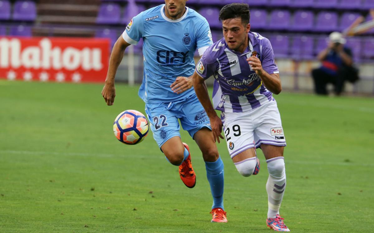 Principio de acuerdo con el Real Valladolid para el traspaso de Jose Arnaiz