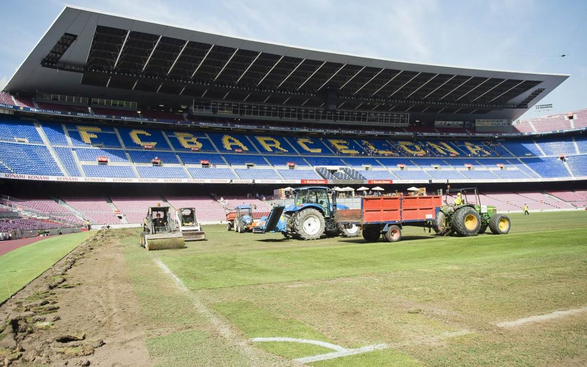 FC Barcelona will have a new pitch for the Gamper