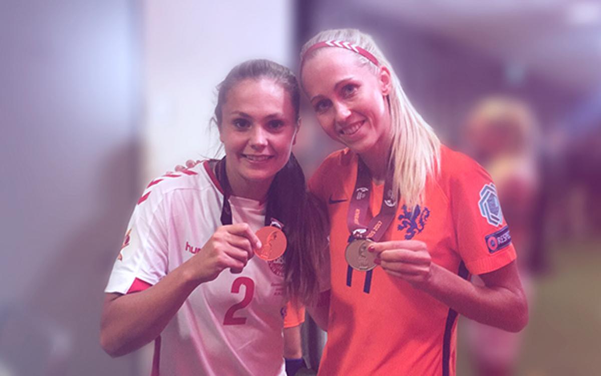 Martens y Røddik cierran un Europeo memorable en clave azulgrana