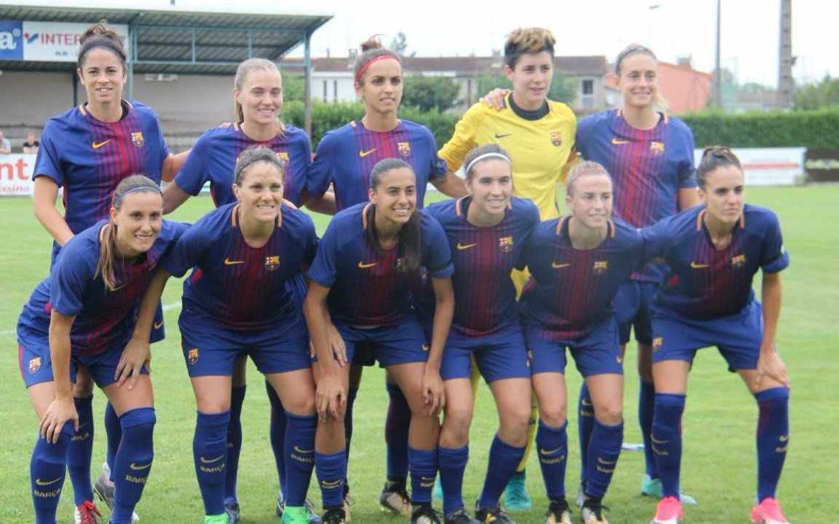 Olympique Marsella - FC Barcelona Femenino: Buenas sensaciones sin goles (0-0)