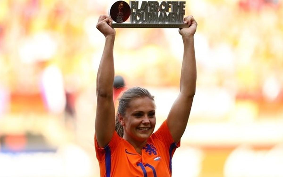 Lieke Martens, MVP del Europeo Femenino