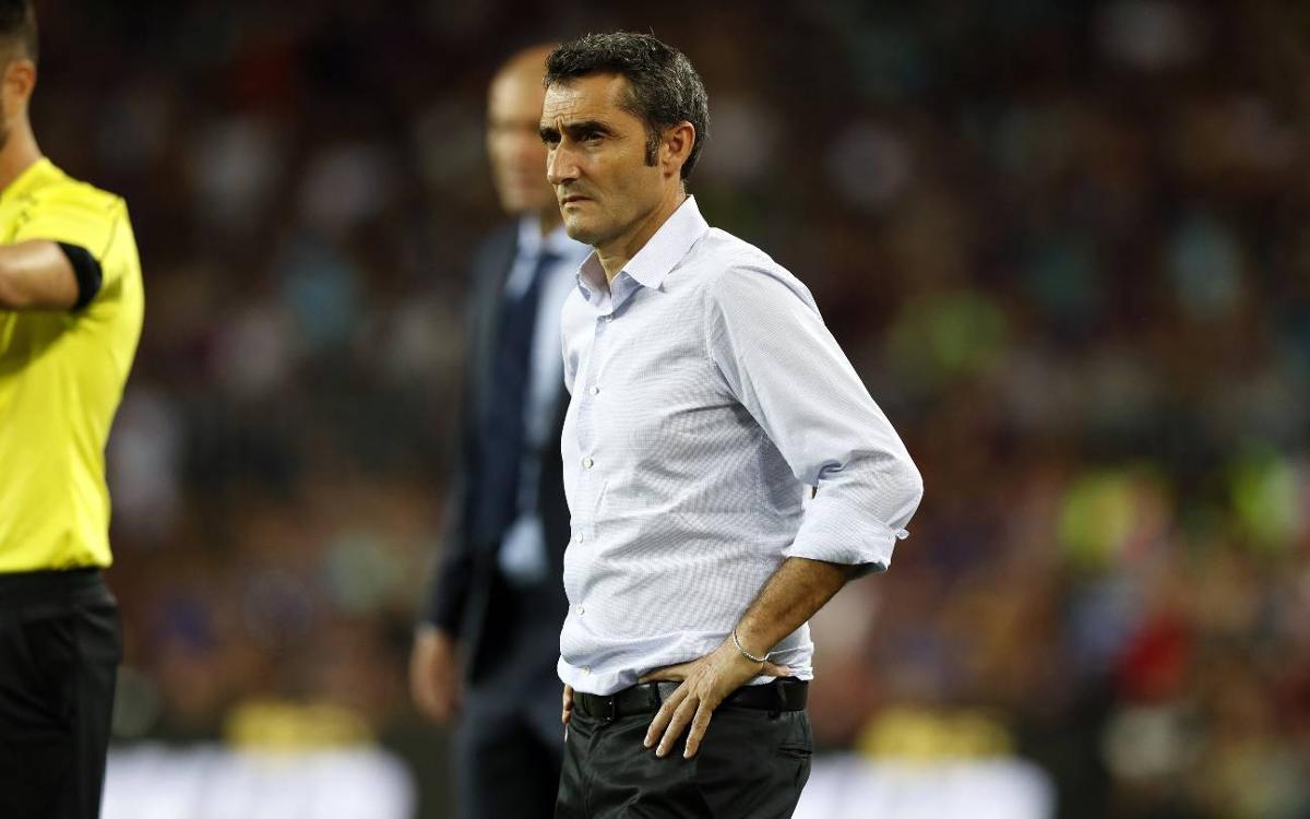 """Ernesto Valverde: """"Tenemos que seguir mirando adelante"""