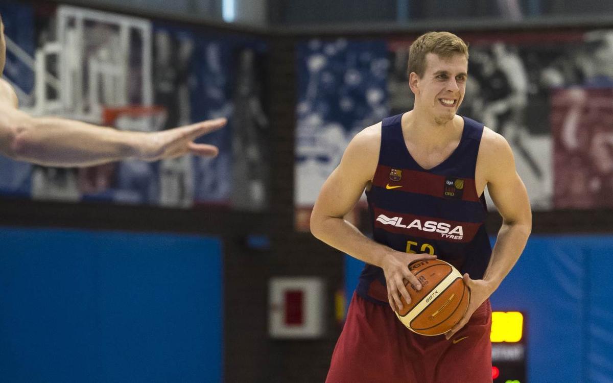 Volodymyr Gerun seguirá una temporada más en el Barça Lassa B