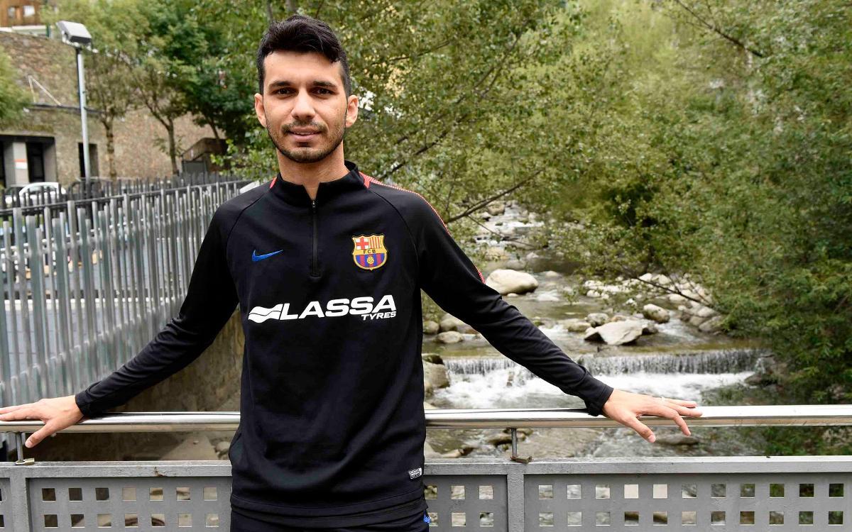 """Esquerdinha: """"Sento orgull de jugar al Barça"""""""