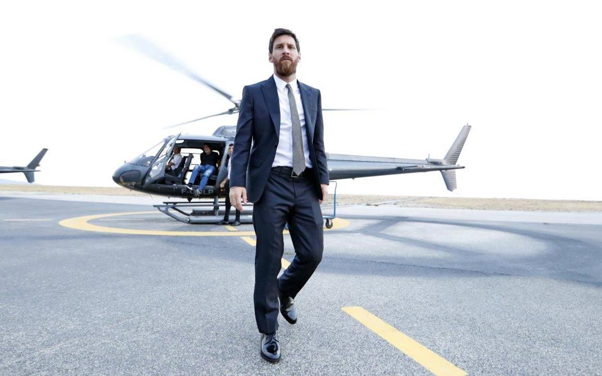 Twelve hours with Leo Messi in Monaco