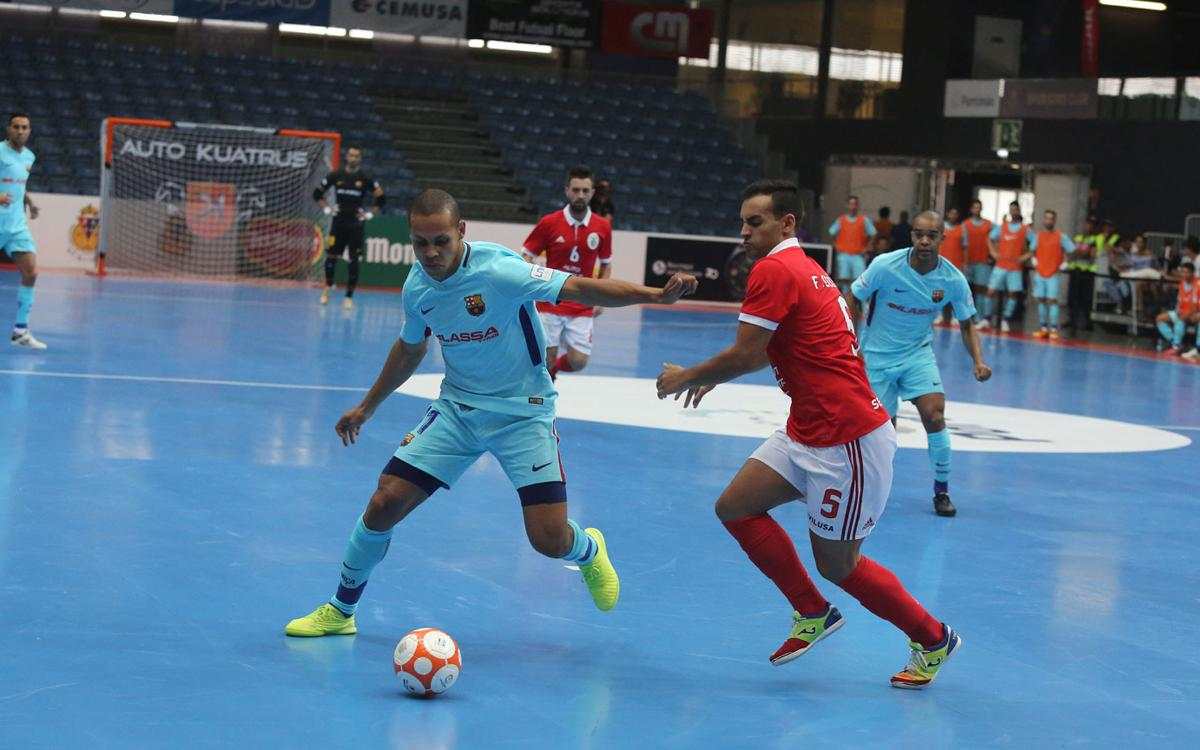 Benfica - FC Barcelona Lassa: Empate agridulce (1-1)