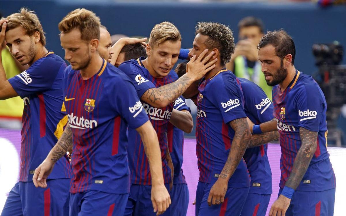 El resum del triomf blaugrana davant la Juventus