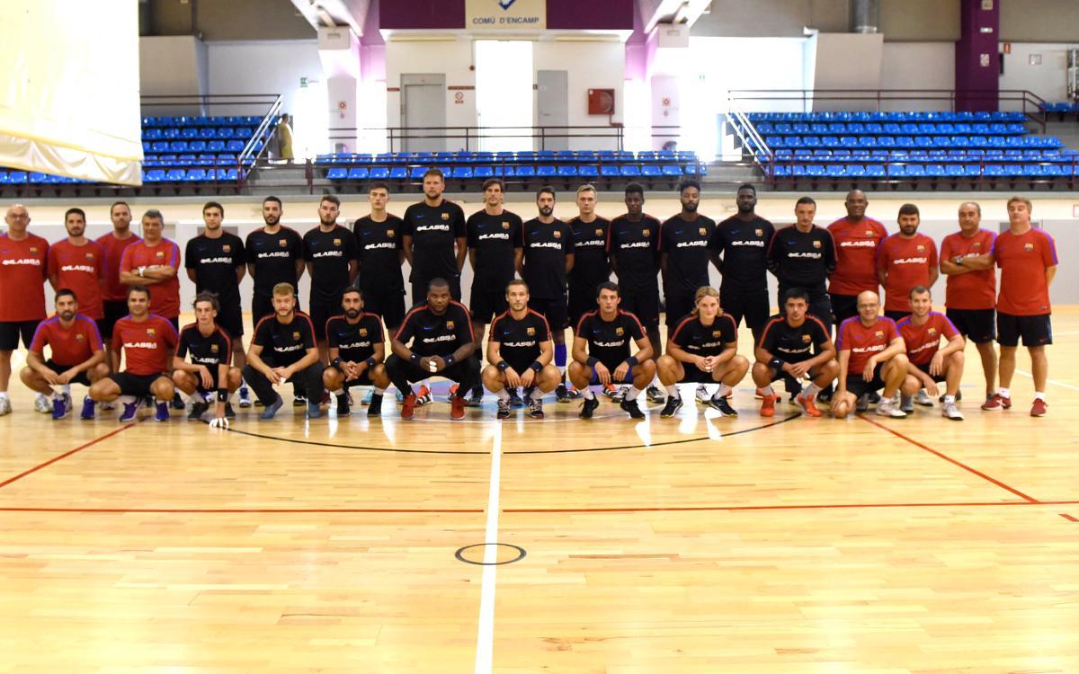Primera jornada completa del Barça Lassa en Andorra