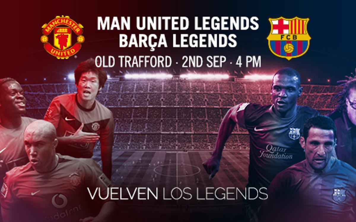 Albert 'Chapi' Ferrer da la lista de los Barça Legends ante los Manchester United Legends