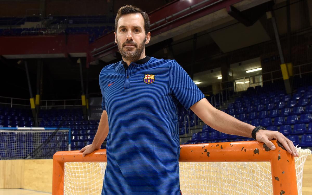 Iván Sanz, nuevo entrenador del júnior y del Barça Lassa B