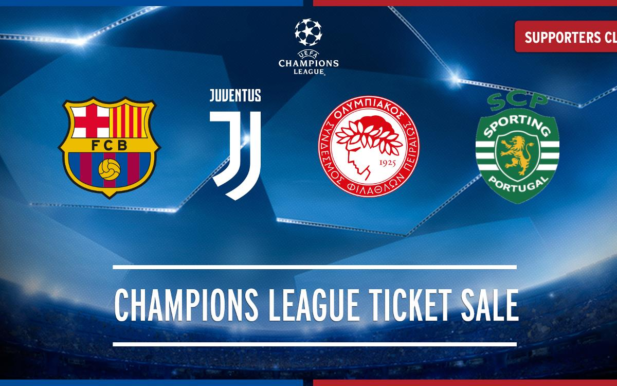 2017/2018 Champions League tickets