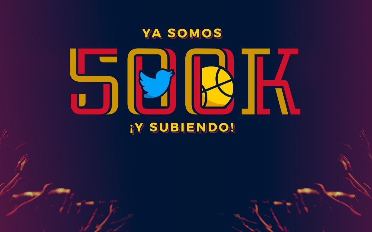 El Barça Lassa, primer equipo europeo que llega a 500.000 seguidores en Twitter