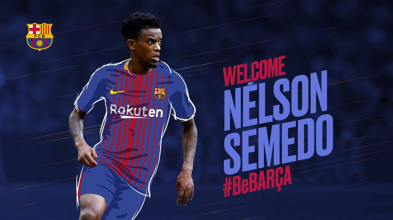 Nelson Semedo, a right full-back on the rise