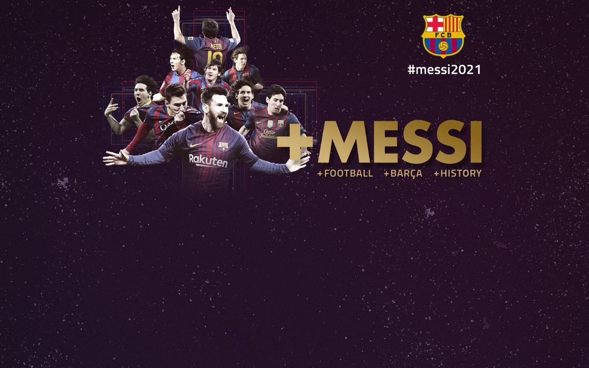 Leo Messi renews Barça contract until 2021