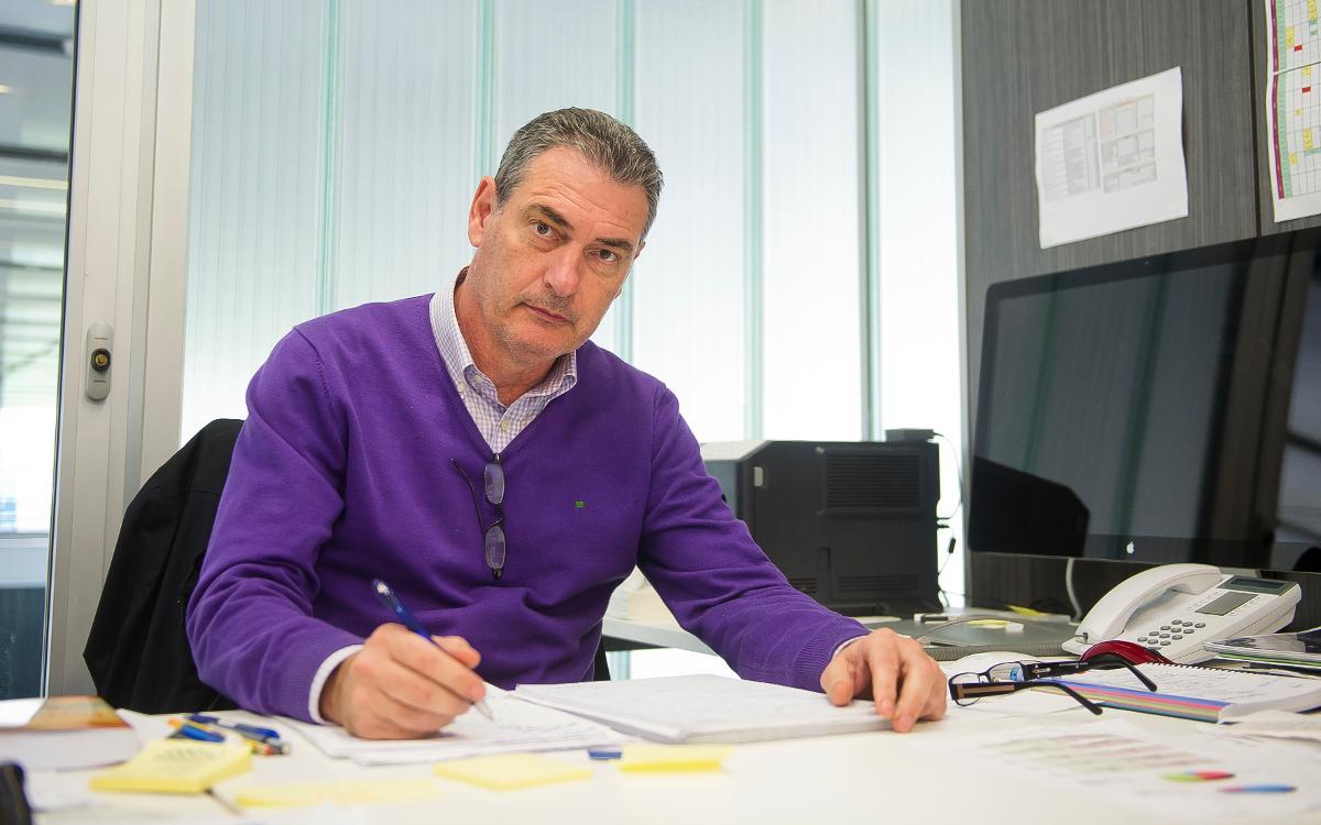 Josep Segura, new sports manager