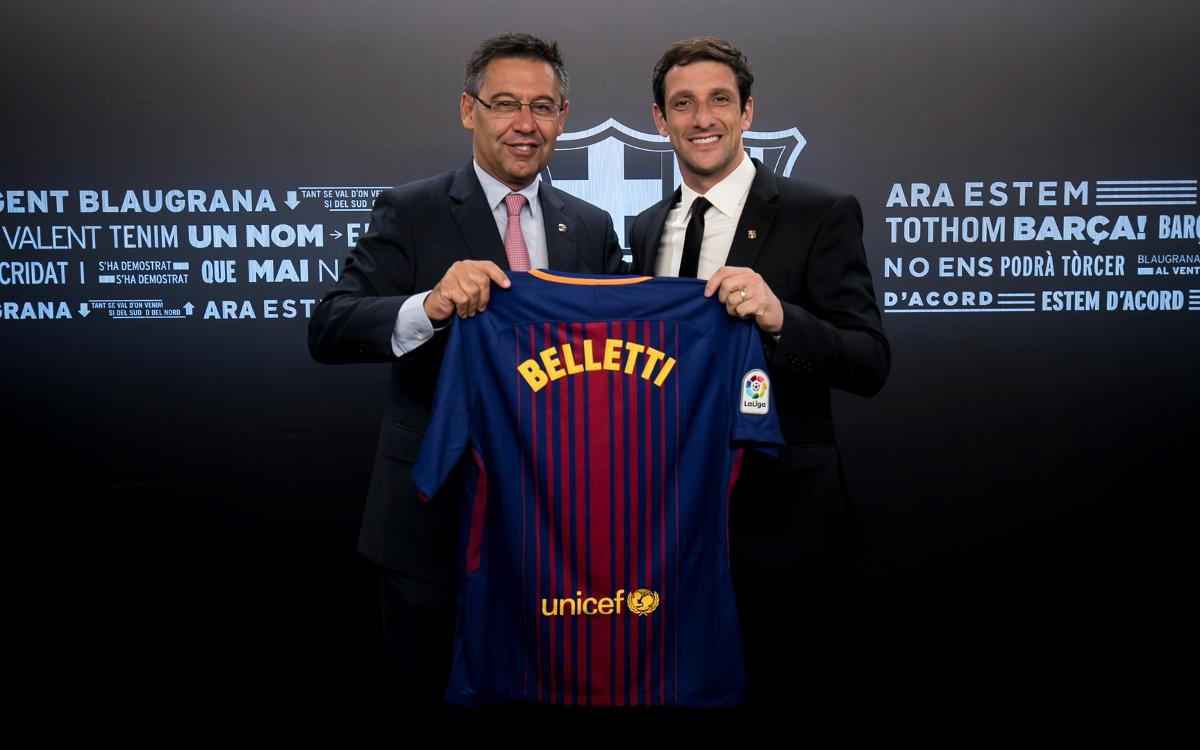 Belletti, new FC Barcelona ambassador