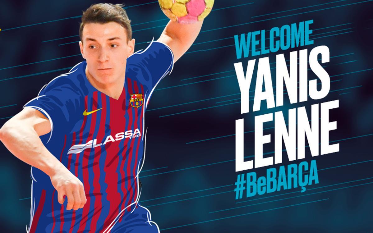 Yanis Lenne, nou jugador del Barça d'handbol