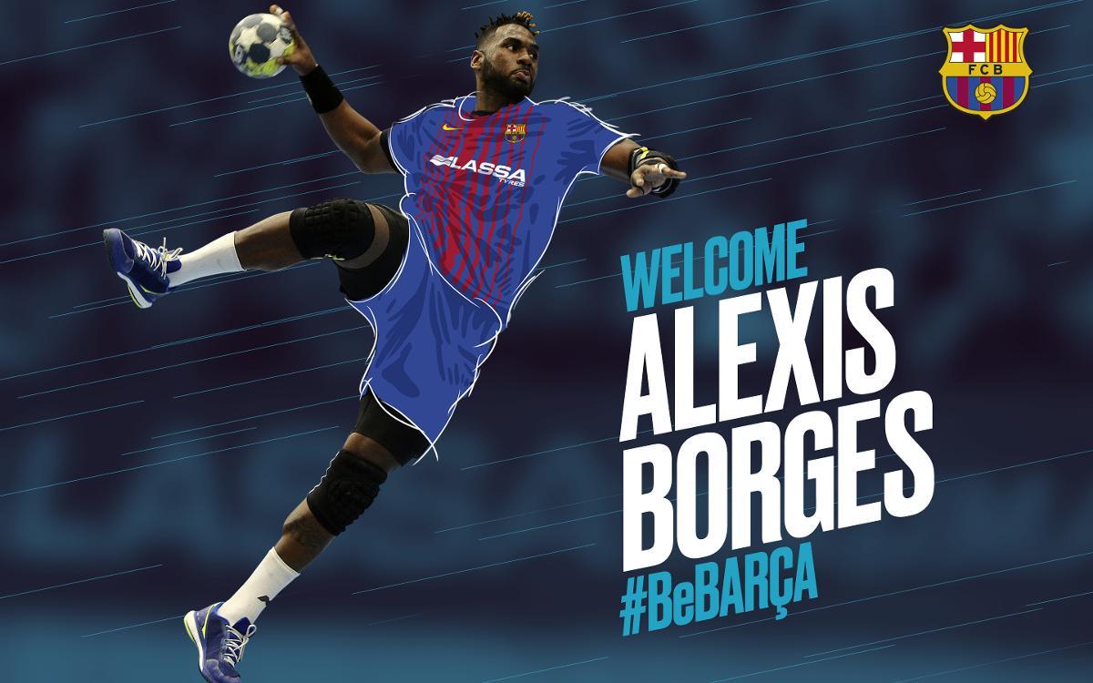 Alexis Hernández Borges es nuevo jugador del Barça Lassa