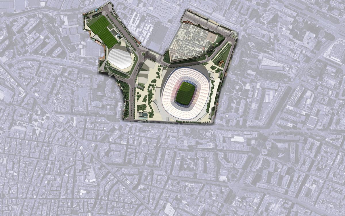 L'Ajuntament proposa l'aprovació inicial de la modificació urbanística per impulsar l'Espai Barça