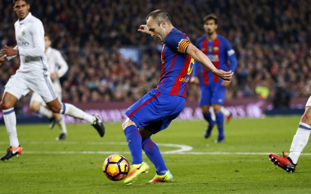 Le retour d'Andrés Iniesta, en vidéo