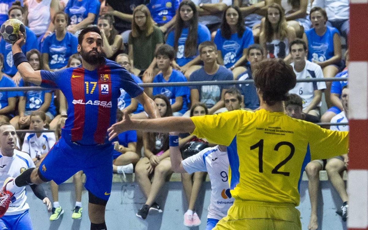 CH Sant Esteve Sesrovires rival en la semifinal de la Supercopa de Cataluña