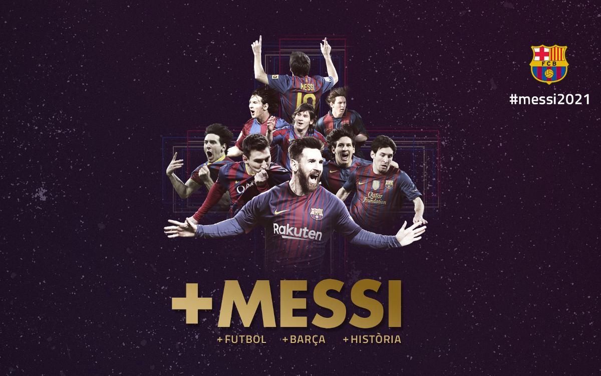 Acord per a la renovació del contracte de Leo Messi
