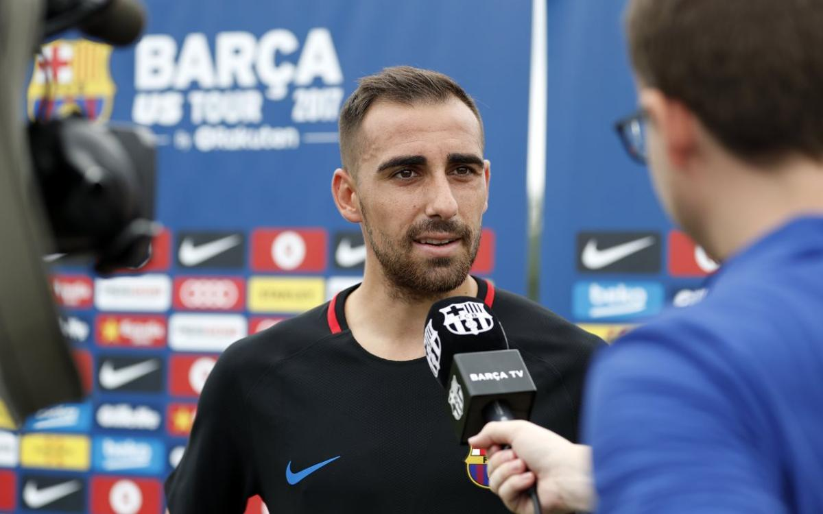 Paco Alcácer: 'We are excited for the new season'