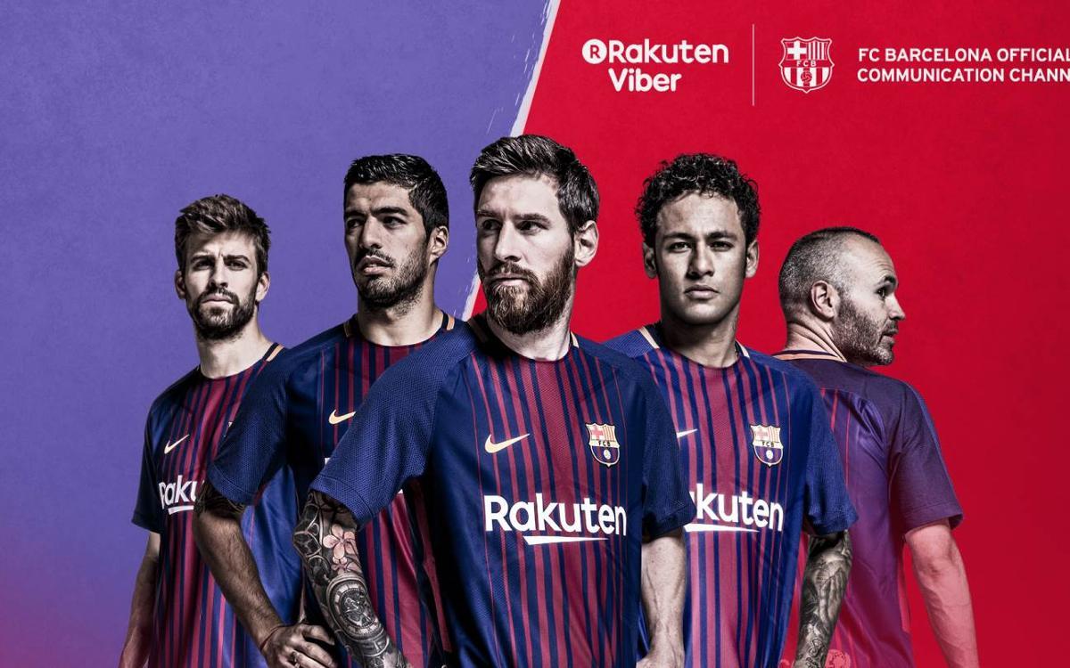 El FC Barcelona abre una cuenta pública oficial de Viber