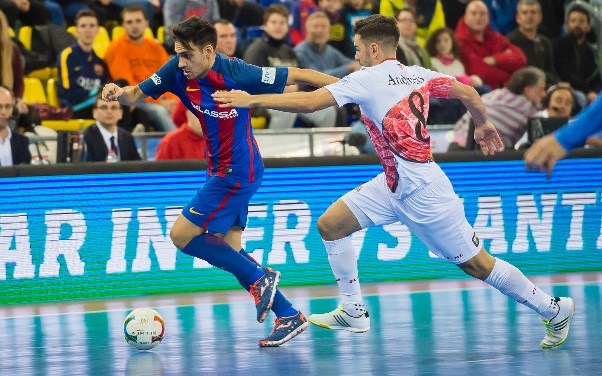 Diego Quintela no continuará en el Barça Lassa