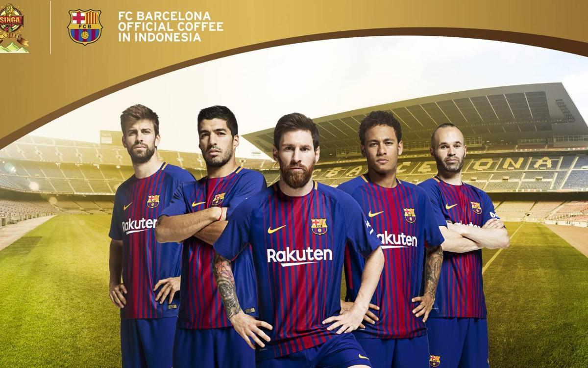 Kopi Singa, nuevo patrocinador regional del FC Barcelona