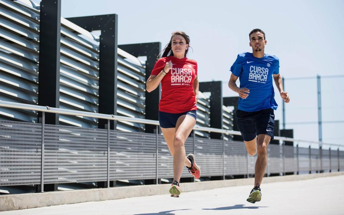 Presentació de les samarretes Nike de la Cursa Barça Caixa Bank