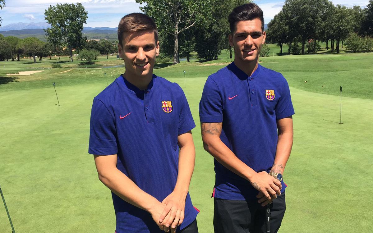 Conoce un poco más a dos de los refuerzos del Barça B: Ruiz de Galarreta y Samu Araujo