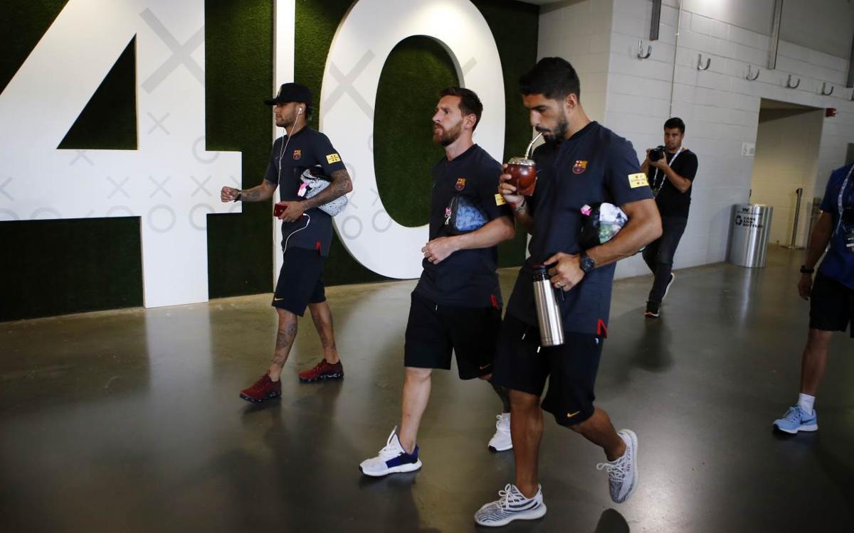El Juventus - FC Barcelona, en ocho minutos de película