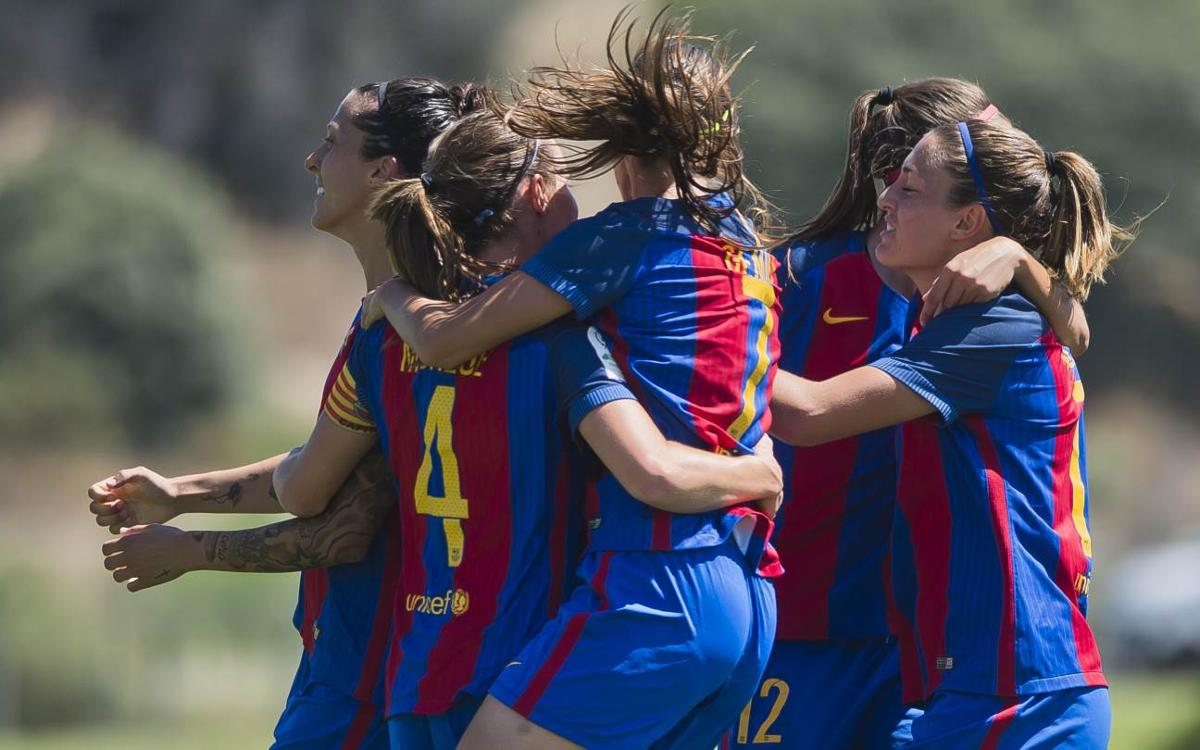 The FC Barcelona Women's team's top 5 goals from the 2016-17 season